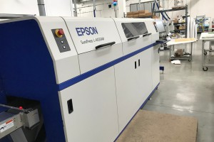 Epson surepress L 4033 AW + SEI Label Cuttter